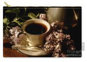 Coffee And Lilacs In The Morning Carry-all Pouch