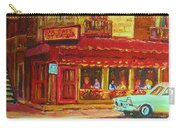 Coffee Bar On The Corner Carry-all Pouch