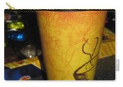 Coffee Cup Series. Yellow And Orange. Carry-all Pouch