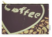 Coffee Heart Carry-all Pouch