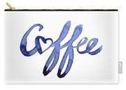 Coffee Love Typography Carry-all Pouch