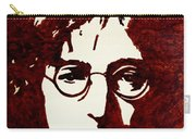 Coffee Painting John Lennon Carry-all Pouch