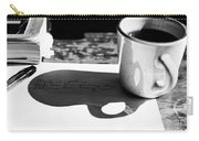 Coffee Poetry Carry-all Pouch