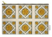 Coffered Ceiling Detail At Getty Villa Carry-all Pouch by Teresa Mucha