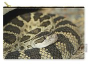 Coiled Rattlesnake Carry-all Pouch
