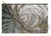 Coiled Razor Wire On Fence Carry-all Pouch