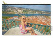 Coimbra Cityscape Woman Carry-all Pouch