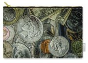 Coins And Bills Carry-all Pouch