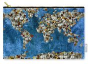 Coins World Map Carry-all Pouch