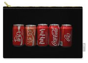 Coke Cans Carry-all Pouch