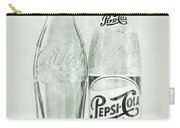 Coke Or Pepsi Black And White Carry-all Pouch