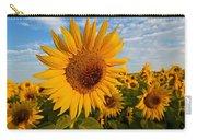 Colby Farms Sunflower Field Newbury Ma Sunrise Carry-all Pouch