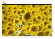 Colby Farms Sunflower Field Newbury Ma Carry-all Pouch