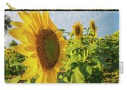 Colby Farms Sunflower Field Side Carry-all Pouch