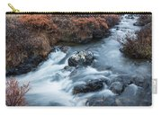 Cold Creek In Autumn Carry-all Pouch