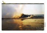 Cold Morning Sunrise At Grand Prismatic Spring Carry-all Pouch