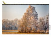 Cold Winter Evening In The Valley Carry-all Pouch