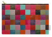 Collage Color Study Fuchsia Carry-all Pouch