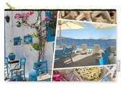 Collage Of Crete  Carry-all Pouch