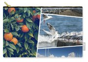 Collage Of Cyprus Images Carry-all Pouch