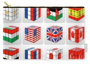 Collage Of Flags Of Different Nation  Carry-all Pouch