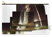 Collage Of Gateway Arch At Night Carry-all Pouch