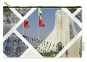 Collage Of Iran Images  Carry-all Pouch