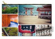 Collage Of Japan Images Carry-all Pouch