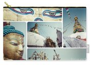 Collage Of Kathmandu  Carry-all Pouch