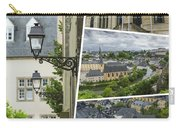 Collage Of Luxembourg Images Carry-all Pouch