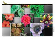 Collage Of Spring Flowers Carry-all Pouch