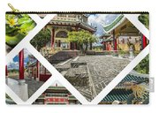 Collage Of Taoist Temple In Cebu, Philippines. Carry-all Pouch