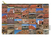 Collage Roof And Windows - The City S Eyes Carry-all Pouch