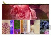 Collage So Rosey Carry-all Pouch