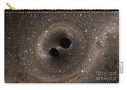 Colliding Black Holes Make Waves Carry-all Pouch