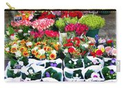 Cologne Flowers Carry-all Pouch