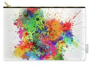 Colombia Paint Splashes Map Carry-all Pouch