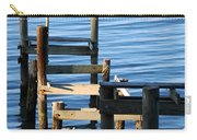 Colonial Beach Pilings Carry-all Pouch