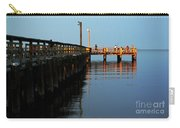 Colonial Beach Town Pier Carry-all Pouch