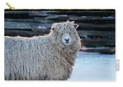 Colonial Sheep In Winter Carry-all Pouch
