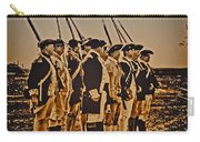 Colonial Soldiers On Parade Carry-all Pouch