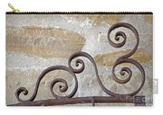Colonial Wrought Iron Gate Detail Carry-all Pouch