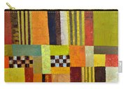 Color And Pattern Abstract Carry-all Pouch by Michelle Calkins