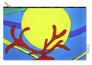 Color Animal Moon Street Art Carry-all Pouch