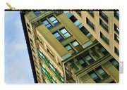 Color Buildings Architecture New York  Carry-all Pouch