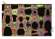 Color Circles Abstract Carry-all Pouch
