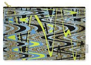 Color Combo Abstraction Carry-all Pouch