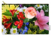 Color Explosion Carry-all Pouch by Kristin Elmquist
