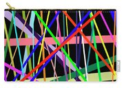 Color Lines Variety Background Carry-all Pouch