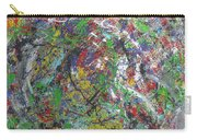 Color Map From The Sky And Ice Figure  Carry-all Pouch